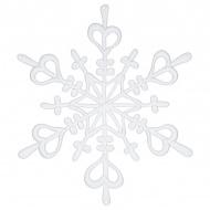 Ozdoba dekoracja świąteczna Koziol FLAKE biała L
