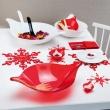 Ozdoba dekoracja świąteczna Koziol FLAKE czerwona L KZ-1125536