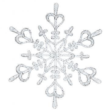 Ozdoba dekoracja świąteczna Koziol FLAKE srebrna L