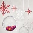 Ozdoba dekoracja świąteczna Koziol FLAKES srebrne 2 szt.  KZ-2090019