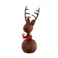 Ozdoba świąteczna 21 cm Philippi Ole brązowa