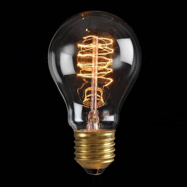 Ozdobna żarówka E27 60W Standard de Luxe Danlamp z dekoracyjnym żarnikiem DL-08060