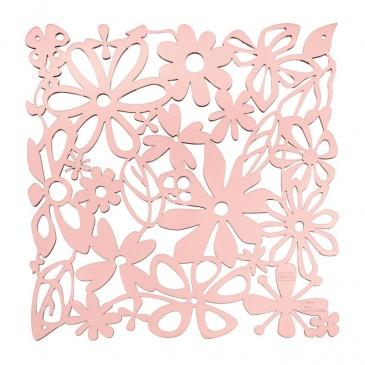 Panel dekoracyjny 4 szt. 27x27 cm Koziol ALICE pastelowy róż KZ-2035638