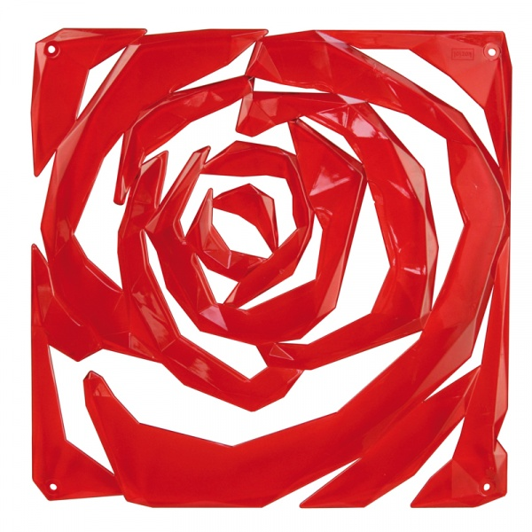 Panel dekoracyjny Koziol Romance czerwony KZ-1118536