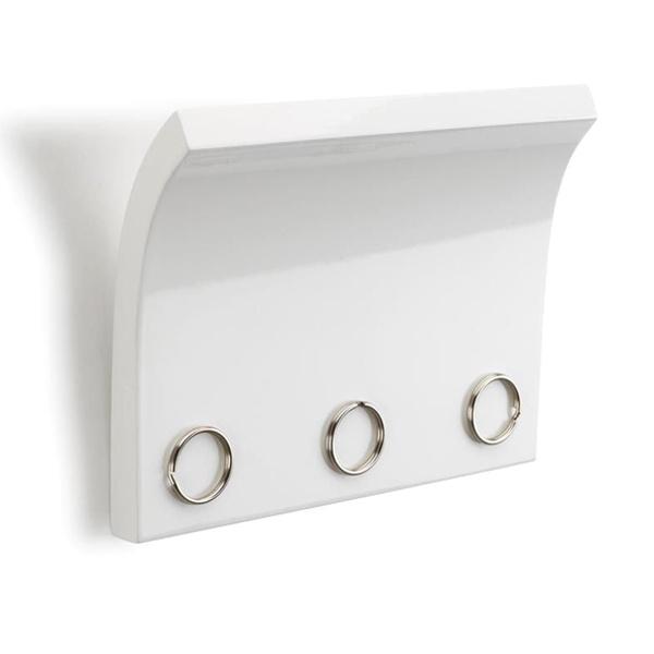 Panel z magnesami na klucze i listy Umbra Magnetter biały 318200-660