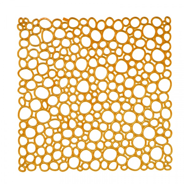 Panele dekoracyjne 4 szt. Koziol Oxygen pomarańczowe KZ-2041509
