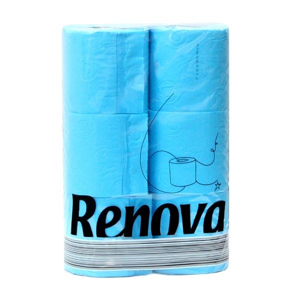 Papier toaletowy 6 szt. Renova niebieski 5601028011969