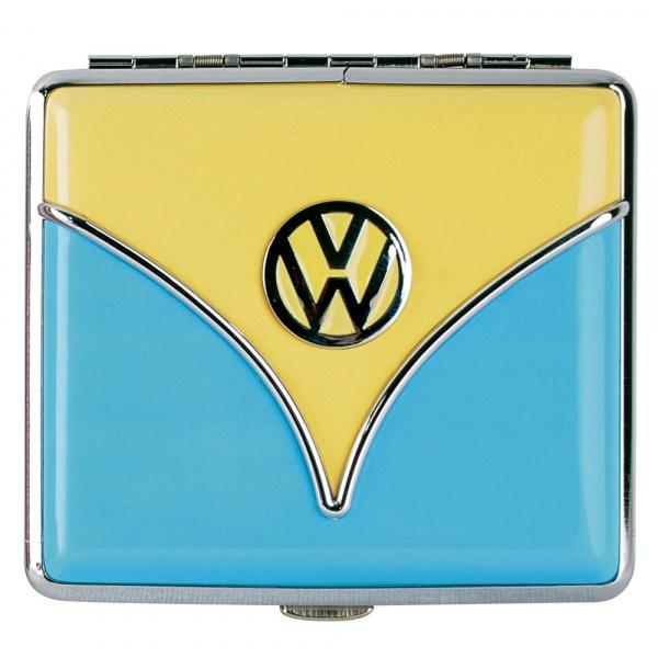 Papierośnica 2x8,5x9,5 cm BRISA VW Bus żółto-niebieska BR-BU40610004BLUE
