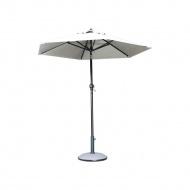 Parasol centralny Calabria 300x300 cm Miloo Home wielobarwny