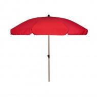 Parasol ogrodowy 250 cm : Kolor - Red