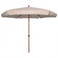 Parasol Ogrodowy Drewniany 300 cm : Kolor - Khaki