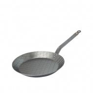 Patelnia 28cm do steków de Buyer B Element srebrna