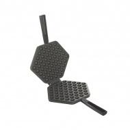 Patelnia 39cm do wafli ptysiowych Nordic Ware Waffle Puf czarna
