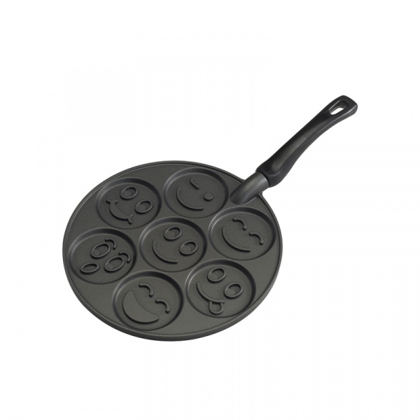 Patelnia do placków 7,5cm Nordic Ware SMILEY FACE 01920