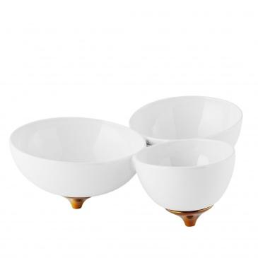 Patera ceramiczna biała MARMAGNE