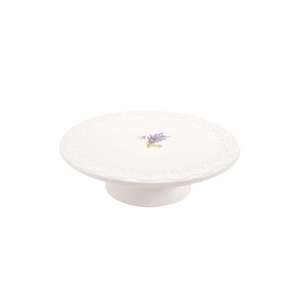 Patera na ciasto Nuova R2S La Belle Maison biała 1027 LAV