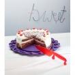 Patera podstawka na tort Koziol Tortella czerwona KZ-3628583