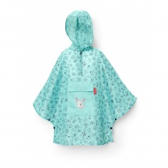 Peleryna mini maxi poncho M kids mint