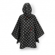 Peleryna mini maxi poncho mixed dots