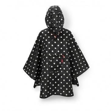 Peleryna mini maxi poncho mixed dots