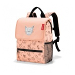Plecak backpack kids cats and dogs rose