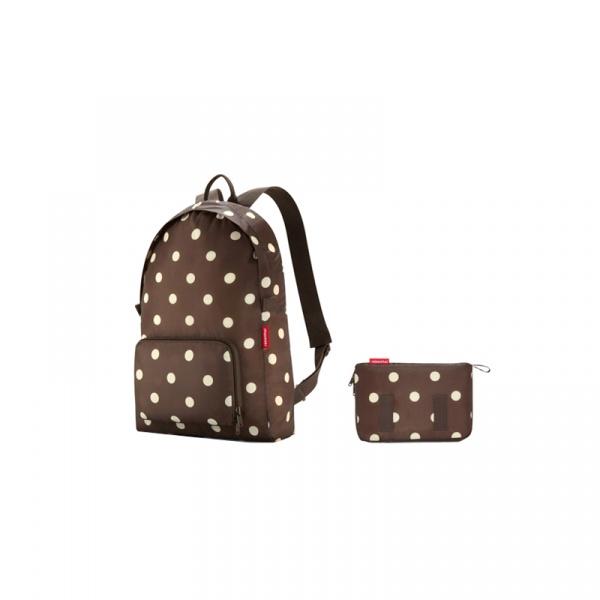 Plecak Reisenthel Mini Maxi Rucksack mocha dots AP6018