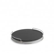 Płyta ceramiczna z podstawą do pieczenia 4x38x38cm LotusGrill czarna