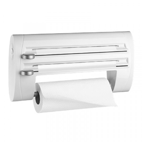 Podajnik na ręcznik papierowy i folię EMSA Superline biały EM-500803