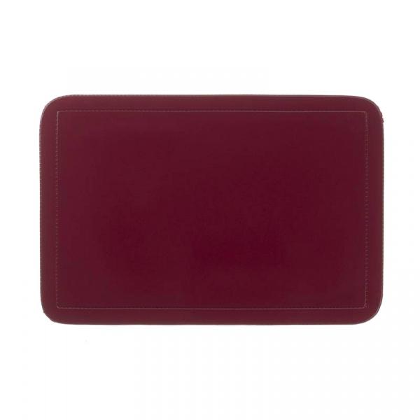 Podkładka na stół 43,5 x 28,5 cm Kela Uni ciemno czerwona KE-15014
