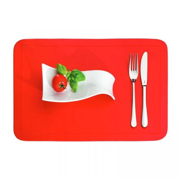 Podkładka na stół 43,5 x 28,5 cm Kela Uni czerwona KE-15001