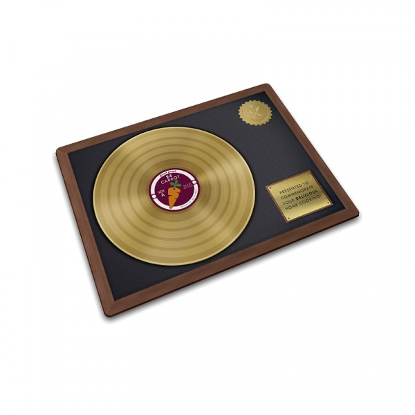 Podkładka szklana 40x30 cm Joseph Joseph Worktop Savers Gold Record 90104