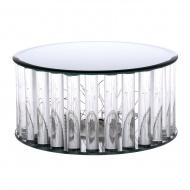 Podstawa lustrzana LED 20x20x10 cm