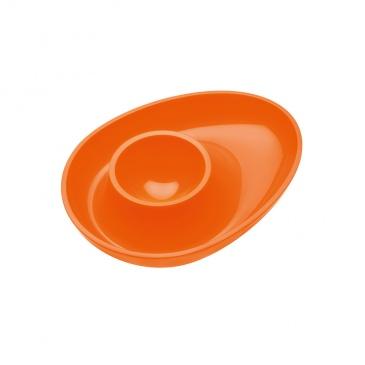 Podstawka do jajka Koziol Columbus pomarańczowa