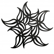 Podstawka pod gorące naczynia Koziol Flame czarna