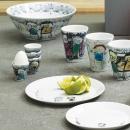 Podstawki do jajek porcelanowe 4 szt. Aida Denmark Oryginal Icons