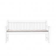 Poducha na ławkę TOSCANA/Lorenzo w szaro-beżowe zygzaki 169 x 50 x 5 cm BLmeble