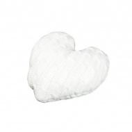 Poduszka 30x30x4 cm Miloo Home Baby Heart biała