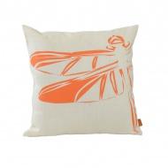 Poduszka Ważka 50x50cm Gie El Botanica pomarańczowy