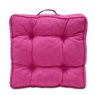 Poduszka z rączką SUN na siedzisko 40x40 : Kolor - 637-14 pink