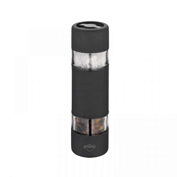 Podwójny młynek do soli i pieprzu 10,5 cm Kuchenprofi Sydney czarny KU-3042511000