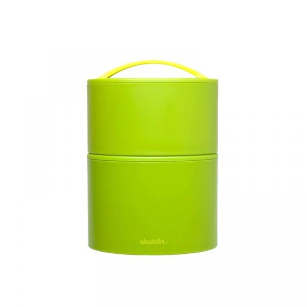 Podwójny termos obiadowy 0,95 l Aladdin Bento zielony AL-10-01135-026