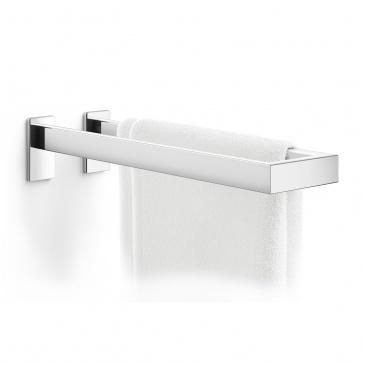 Podwójny wieszak łazienkowy 42cm Zack Linea srebrny