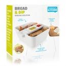 Pojemnik Bread & Dip Tommorow's Kitchen biały
