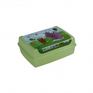 POJEMNIK DECO CLICK BOX MIDI HIPPO 17X13X6CM 500ML -KPR 10698