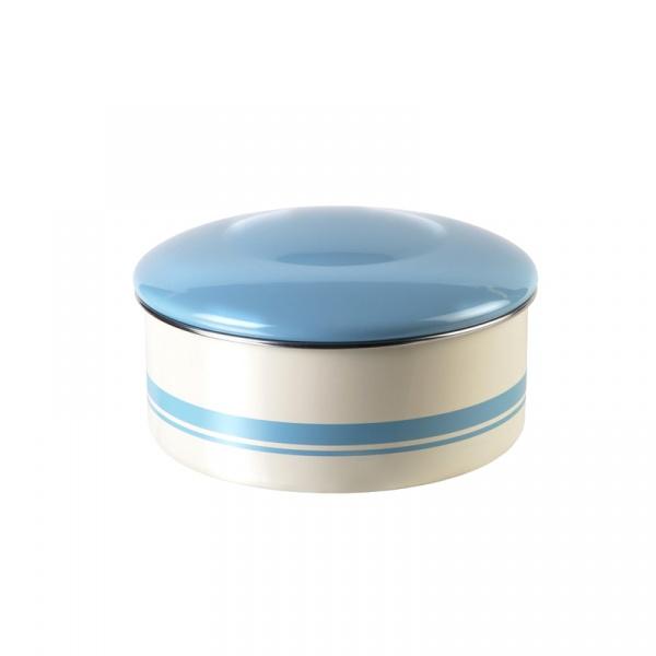 Pojemnik do ciasta Jamie Oliver mały kremowo-błękitny JB8960
