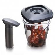 Pojemnik do marynowania średni 1,3l Tomorrows Kitchen czarny