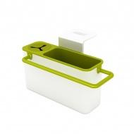 Pojemnik do zlewu Sink Aid Joseph Joseph biało-zielony