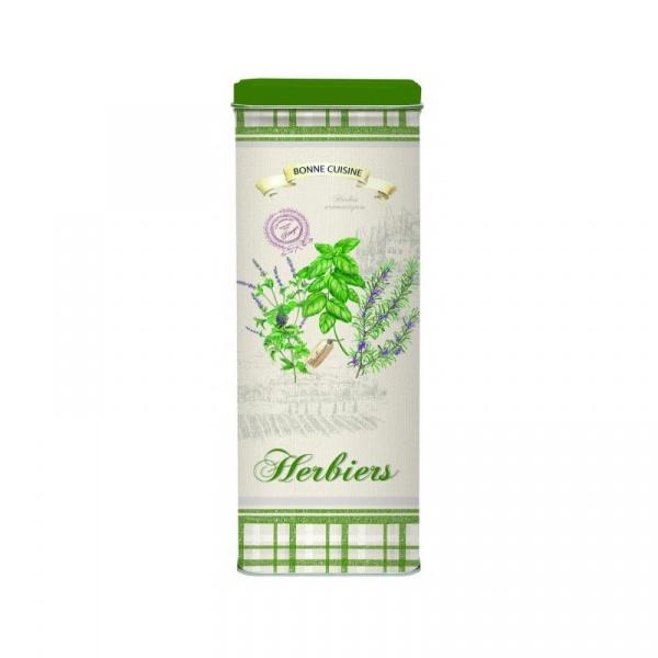 Pojemnik kuchenny na spaghetti Nuova R2S Herbs zielony 076 HERB