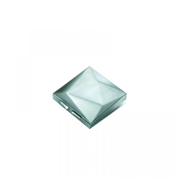 Pojemnik na drobiazgi PO: matowy srebrny P806