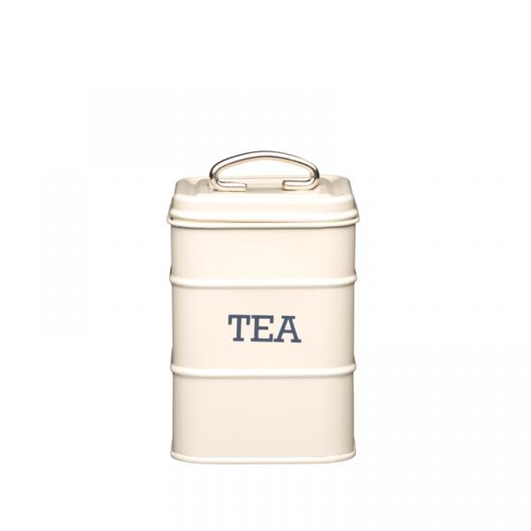 Pojemnik na herbatę Kitchen Craft Living Nostalgia kremowy LNTEACRE